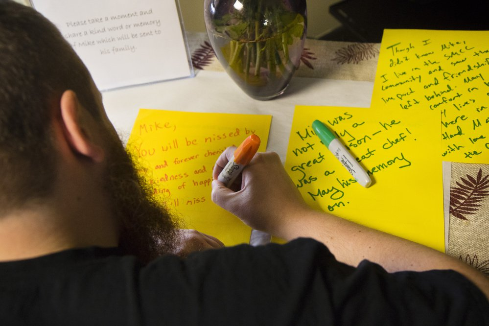 Messages are written in honor of Kusuma, who was killed during a home invasion in Texas.