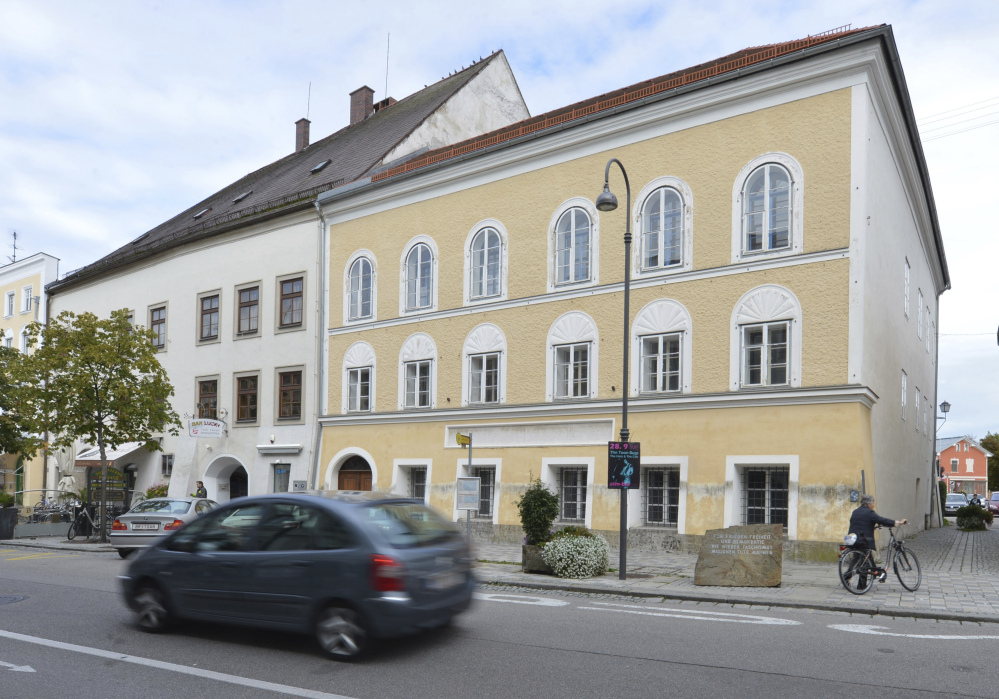 Austria's government said on Monday, Oct. 17, 2016 that it plans to tear down the house where Adolf Hitler was born and replace it with a new building.