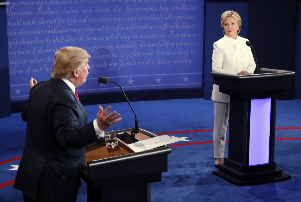 Donald Trump and Hillary Clinton square off for the third and final time in Wednesday night's presidential debate in Las Vegas.