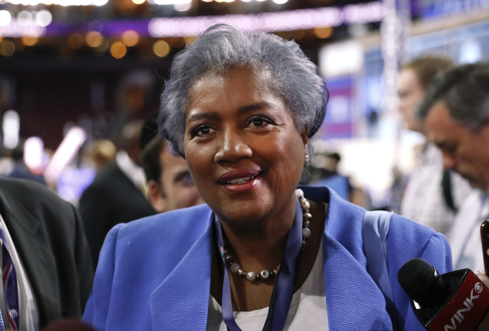 CNN announced Monday that it had accepted Donna Brazile's resignation as a contributor two weeks ago. Her deal had been suspended in July when she became interim head of the Democratic National Committee.