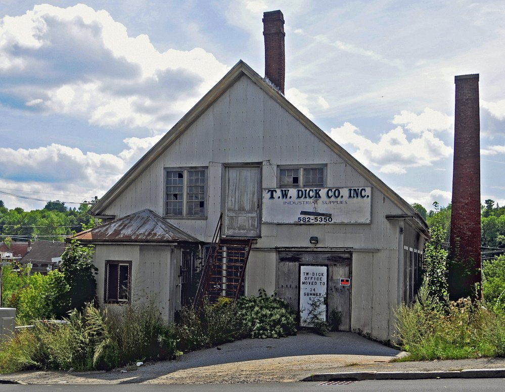 Gardiner officials are expected to soon award bids for the demolition of the T.W. Dick Co. properties on Summer Street.