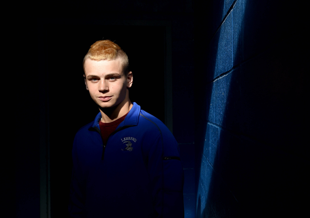 Lawrence senior captain Gunner McAllister does a lot of everything on a team that is gunning for its sixth consecutive victory when it hosts Messalonskee on Friday.
