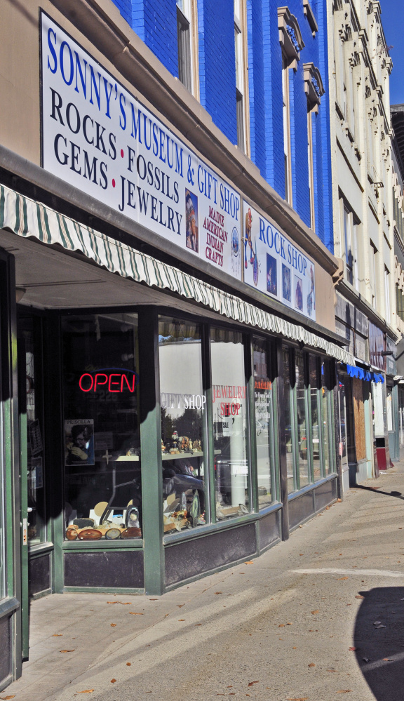 """Sonny's Museum and Rock Shop was a mainstay in downtown Augusta, but the future of the shop is uncertain following the Oct. 13 death of its owner, Levi """"Sonny"""" Chavarie."""
