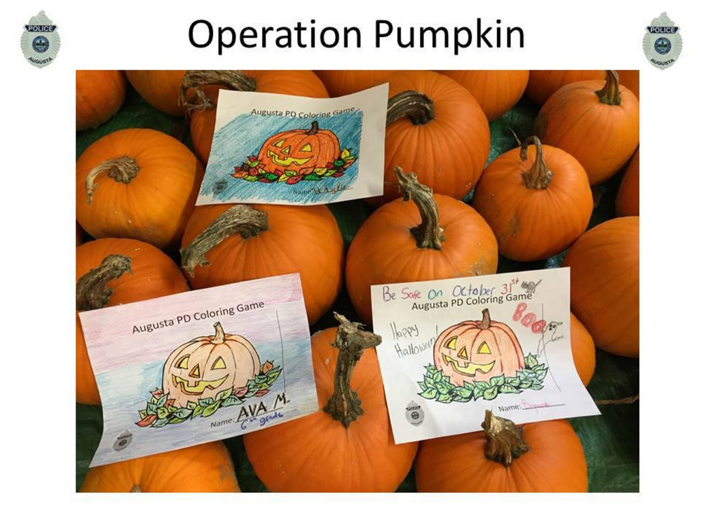 Contributed photoA few of the Operation Pumpkin contest submissions.