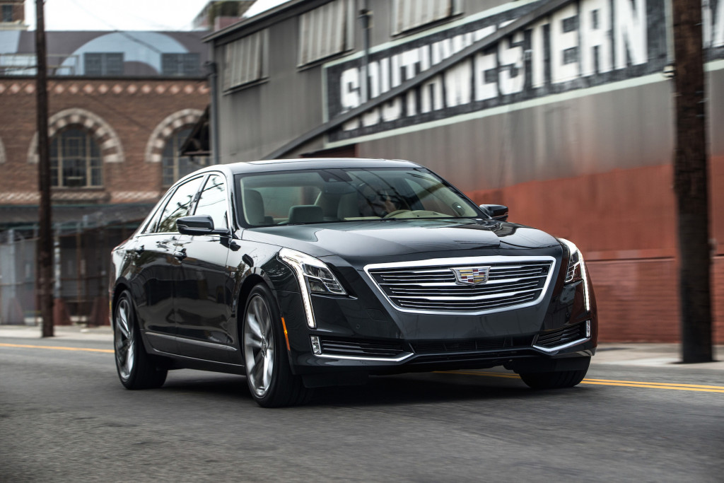 On the road, the 2017 Cadillac CT6 drives smaller than it looks, and smaller than it weighs.