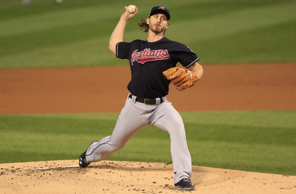 Josh Tomlin, the longest-tenured player on Cleveland's roster, will be the starting pitcher Tuesday night for the Indians as they try to clinch their first World Series title since 1948.