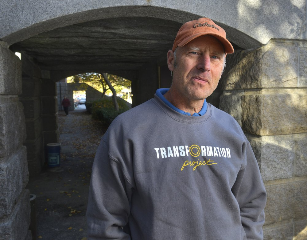 Ken Hawley is director of the Transformation Project, a nonprofit working to create a center in Westbrook that would house and train young adults released from Long Creek Youth Development Center.