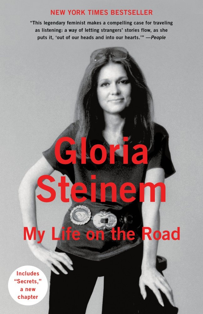 """""""My Life on the Road"""" by Gloria Steinem (paperback)."""