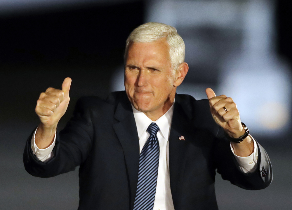 Vice President-elect Mike Pence will take over President-elect Donald Trump's transition team, a source says.