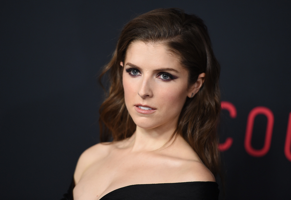 """Anna Kendrick arrives at the world premiere of """"The Accountant"""" at the TCL Chinese Theatre on Oct. 10 in Los Angeles."""