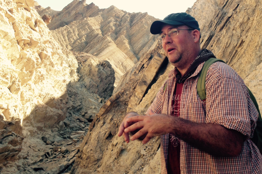 "Paleontologist Torrey Nyborg says the footprints of prehistoric mammals and birds that are almost everywhere you look are ""as good as it gets."""