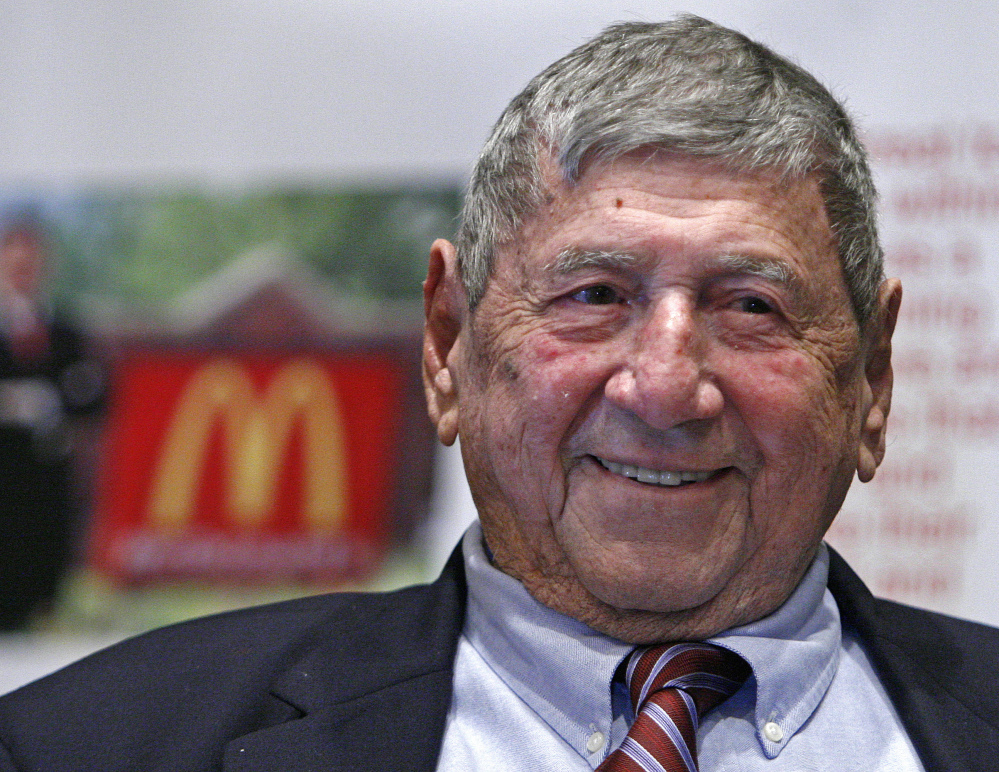 "Big Mac creator Michael ""Jim"" Delligatti ate at least one of the sandwiches each week for decades, his son says."