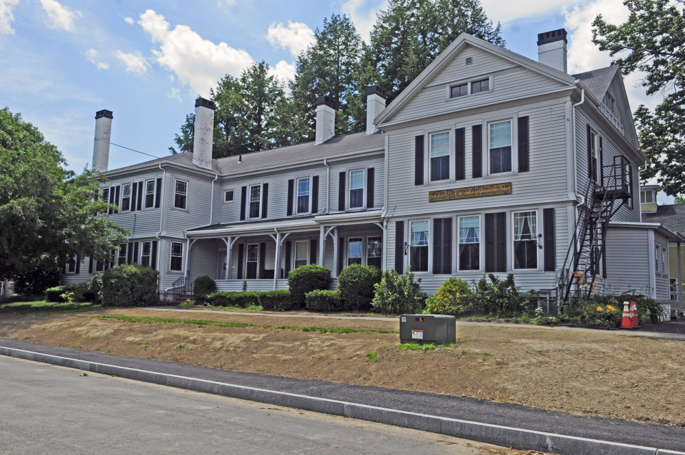 St. Mark's Home in Augusta, shown in July, is one of the buildings for sale on the city's west side. The potential sale prompted city officials to reconsider what types of uses are appropriate in neighborhoods.
