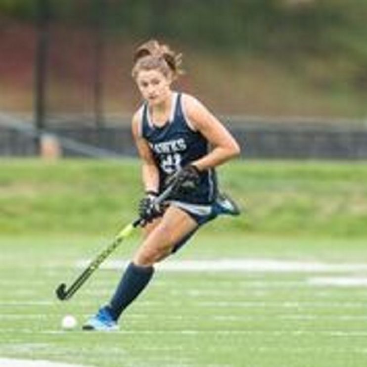 Contributed photo Saint Anselm's Michelle Lemelin, an Erskine graduate, is a scoring option off the bench this season.