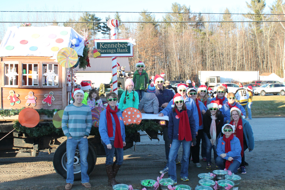 Kennebec Savings Bank was one of several businesses and community groups that took part in the Winthrop Annual Holiday Parade last year.