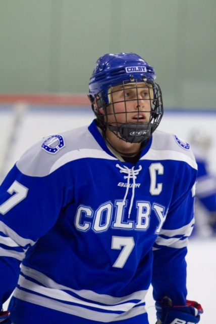 Colby College's Geoff Sullivan will be a leader on defense this season for Colby College.