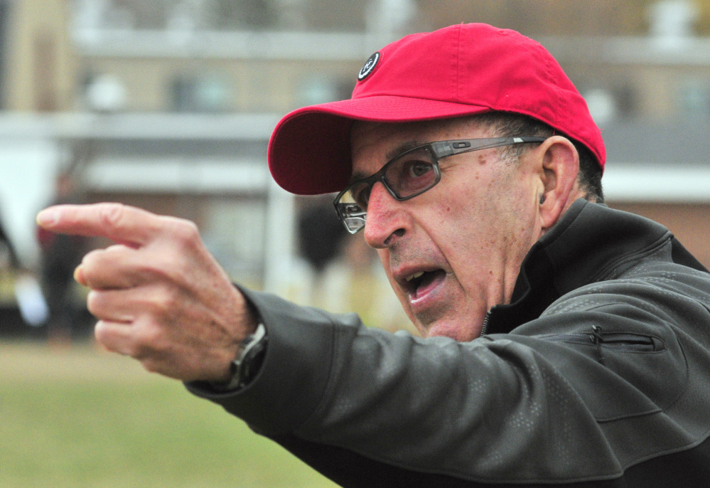 Lisbon head football coach Dick Mynahan is retiring after the Greyhounds game against Maine Central Institute in the Class D state title game Saturday at Fitzpatrick Stadium in Portland.