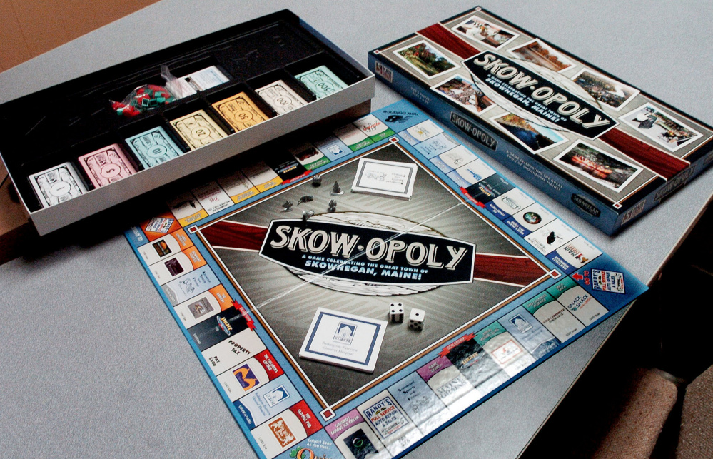 """Skowopoly"" was created by Main Street Skowhegan and is being sold as a fundraiser toward the group's strategic plan for townwide revitalization."