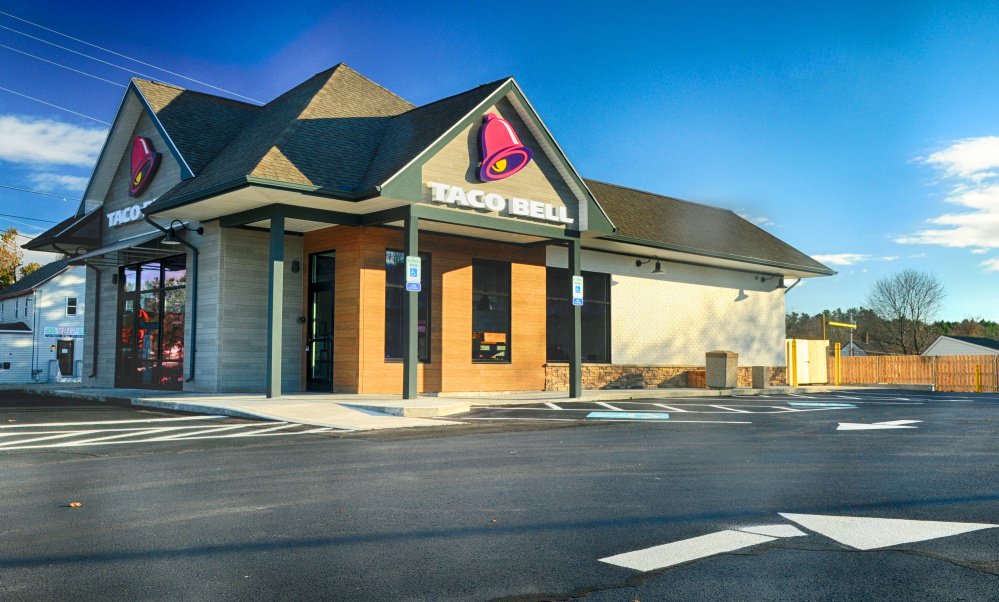 A Taco Bell restaurant on Western Avenue in Augusta is slated to open in the space formerly occupied by a Tim Hortons.