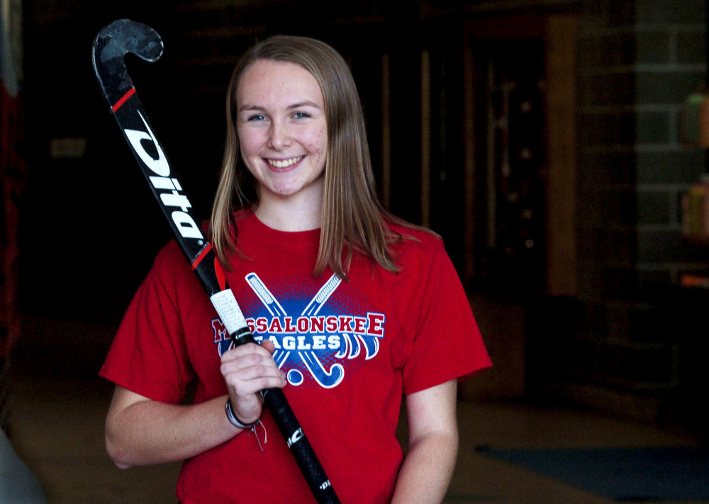 Messalonskee sophomore Autumn Littlefield is the Morning Sentinel Field Hockey Player of the Year.