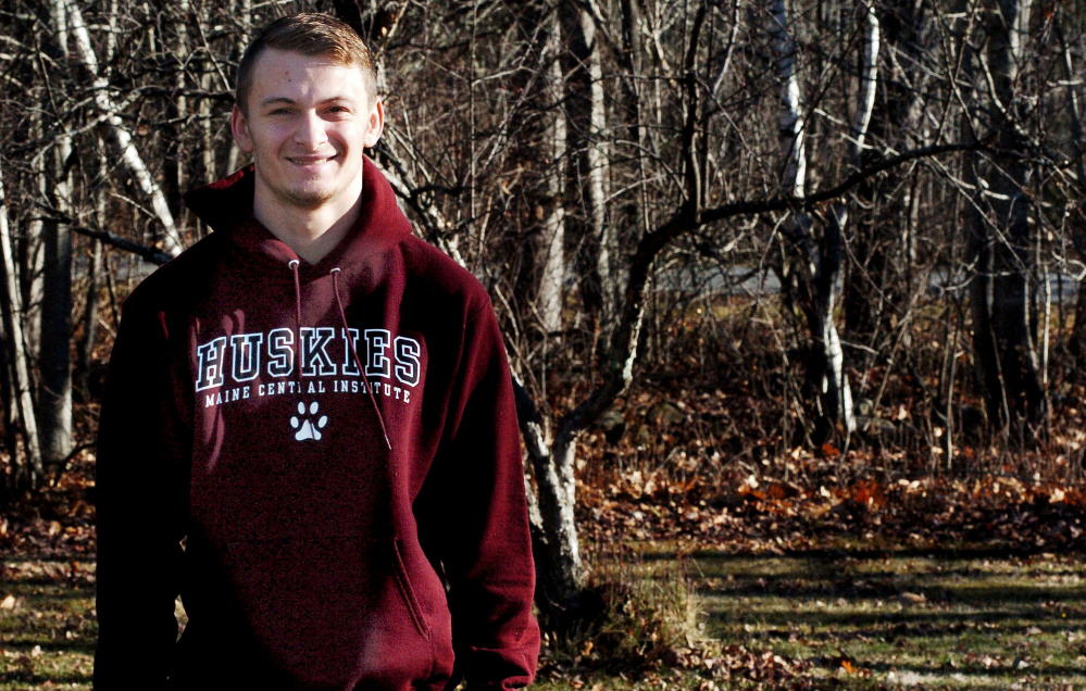 Josh Buker is the Morning Sentinel Football Player of the Year.