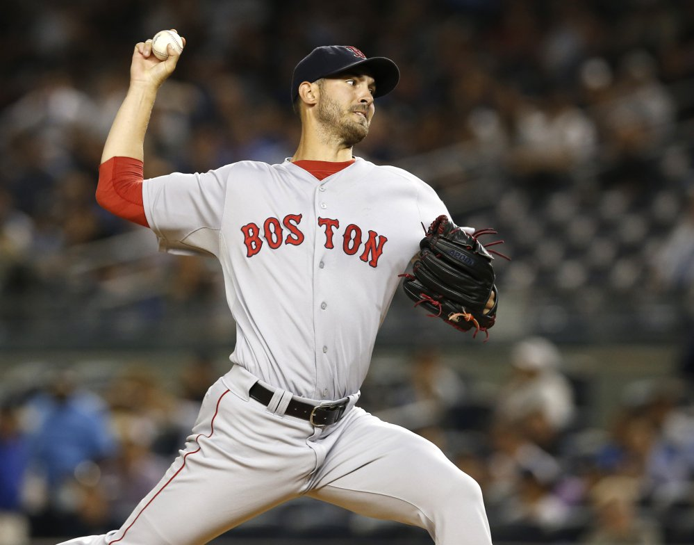 Red Sox starter Rick Porcello led the major leagues with 22 wins on his way to the Cy Young Award, bouncing back from a 9-15 record in 2015, his first season in Boston.