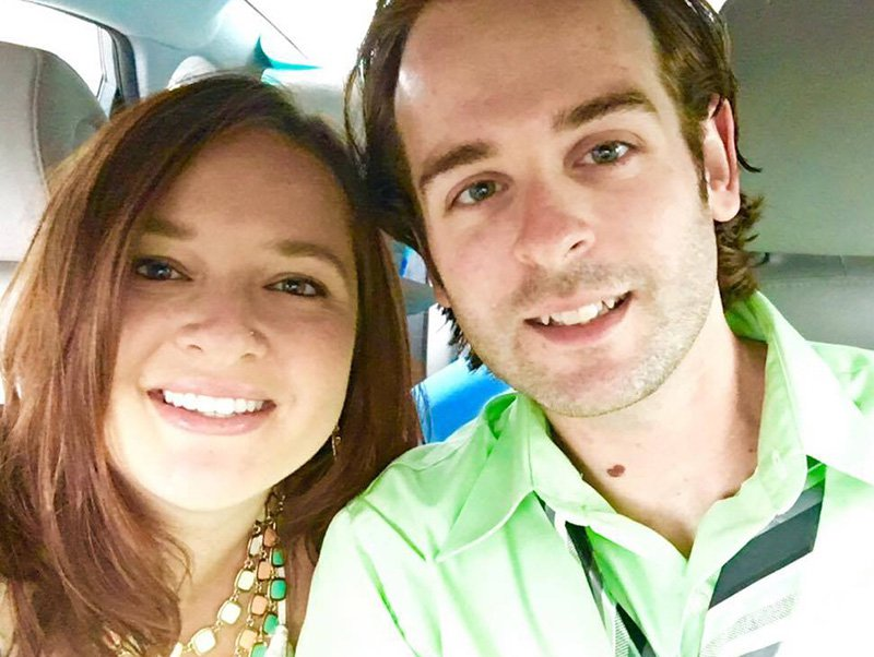 Jason Almeida and his girlfriend Alyssa Goulet. Almeida is recovering from gunshot wounds at Central Maine Medical Center after being shot by the ex-boyfriend of Alyssa's mother.