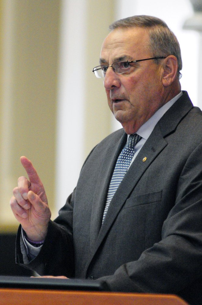 Gov. Paul LePage wants the Legislature to revise two of the ballot questions approved by Maine voters on Nov. 8.