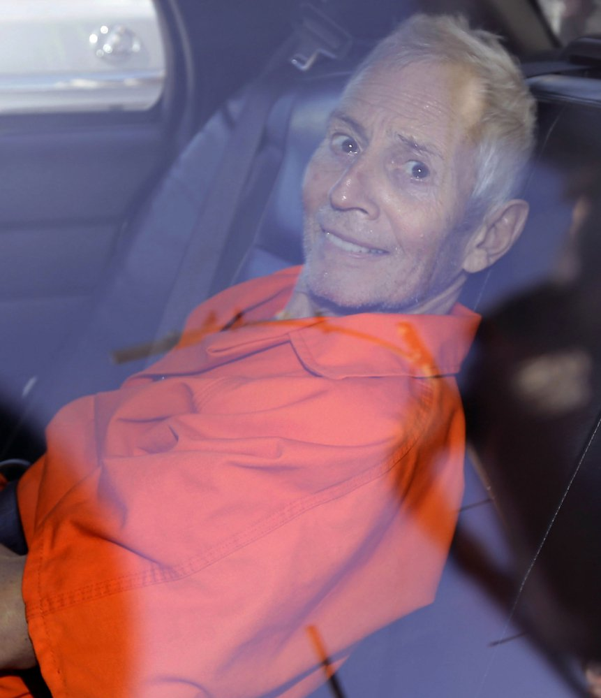 """I was the worst fugitive the world has ever met,"" says Robert Durst, a suspect in three killings."