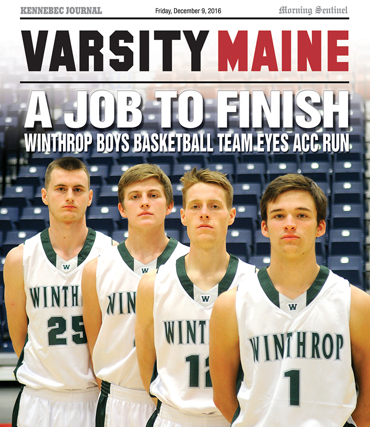 The Winthrop High School boys hope to return to the Augusta Civic Center in Augusta for a deep playoff run this winter.