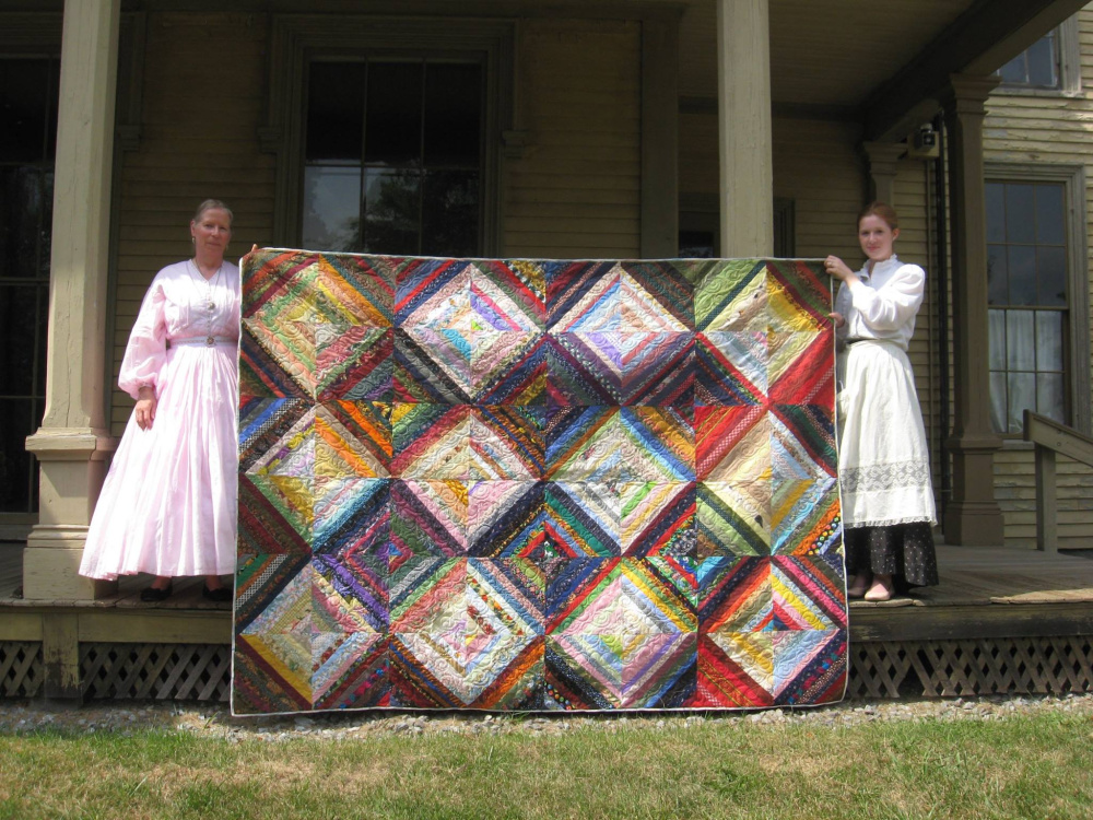 The Livermore Village Scrappers have donated a quilt that will be raffled during Norlands Christmas event. Tickets are available for purchase the day of the event, in the Norlands gift shop or by calling 897-4366. Tickets cost $3 for one chance, $5 for two chances or $10 for 10 chances. Participants do not have to be present to win.