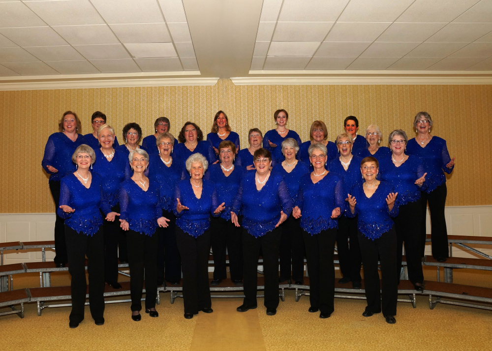 "Maine-ly Harmony a cappella chorus presents ""Winterland Wonderland""  at 2 p.m. Saturday, Dec. 17, at the Salvation Army, 36 Eastern Ave., Augusta."