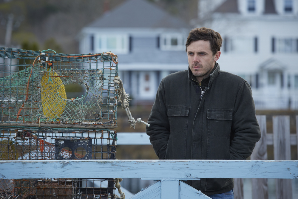 "Casey Affeck in ""Manchester by the Sea."""