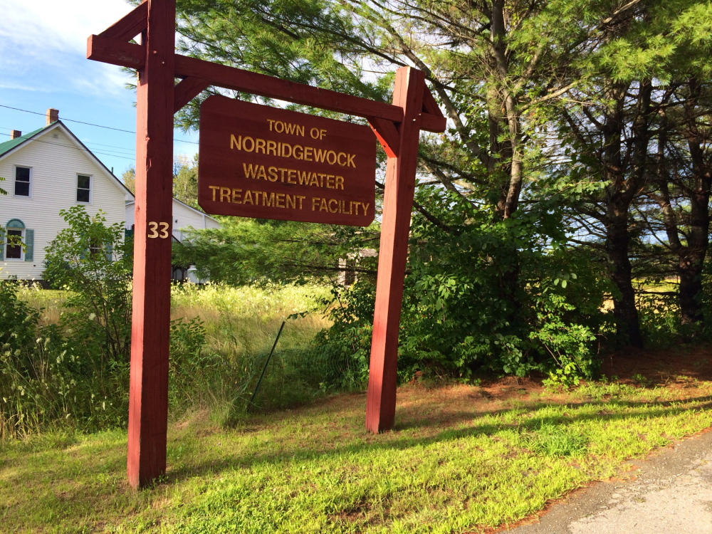The aging Norridgewock Wastewater Treatment Facility, seen in 2015, is in need of upgrades. Town officials are exploring whether to apply for funding from the U.S. Department of Agriculture's Rural Development program.