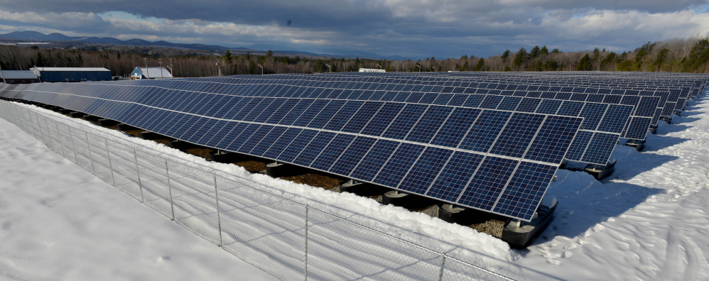Madison Electric Works' massive solar array in the Madison Business Gateway is ready to generate power on Tuesday morning. Madison Electric Works Superintendent Calvin Ames said he expects the project to go online by the end of the week, or very earler in the New Year.