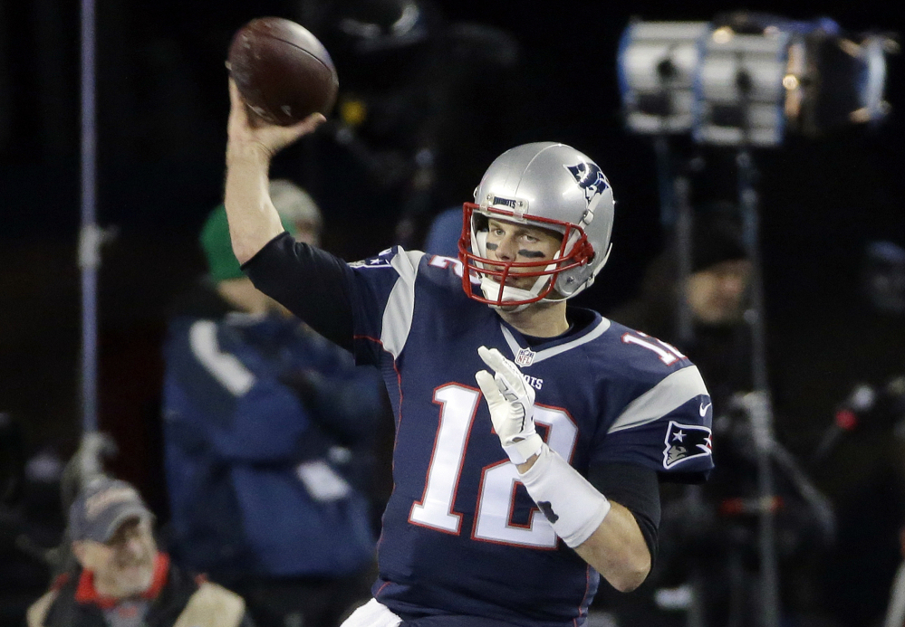 Quarterback Tom Brady and the New England Patriots have a three-game losing streak in Miami. The Patriots travel to play the Dolphins on Sunday in the regular-season finale.