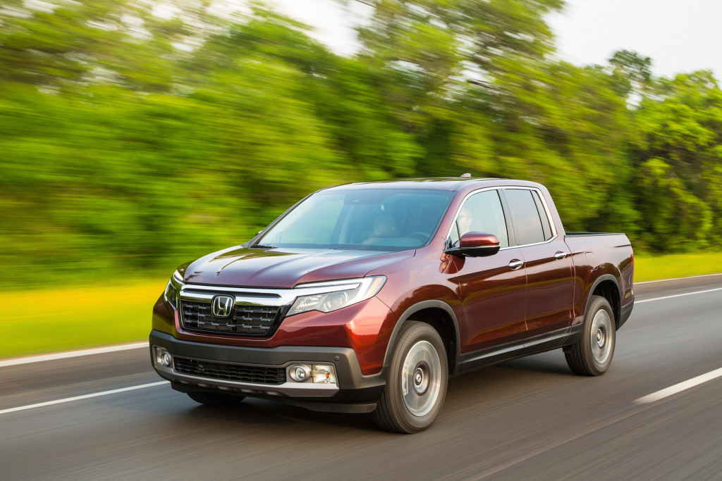 The Ridgeline has a more mainstream look this year.