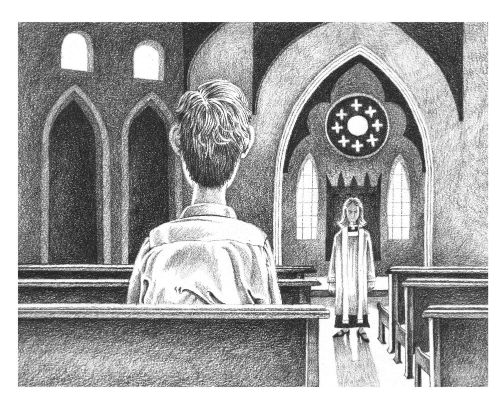 Many churches have seen declining membership in recent years, but having only one person show up to a service was a first for a Portland priest.