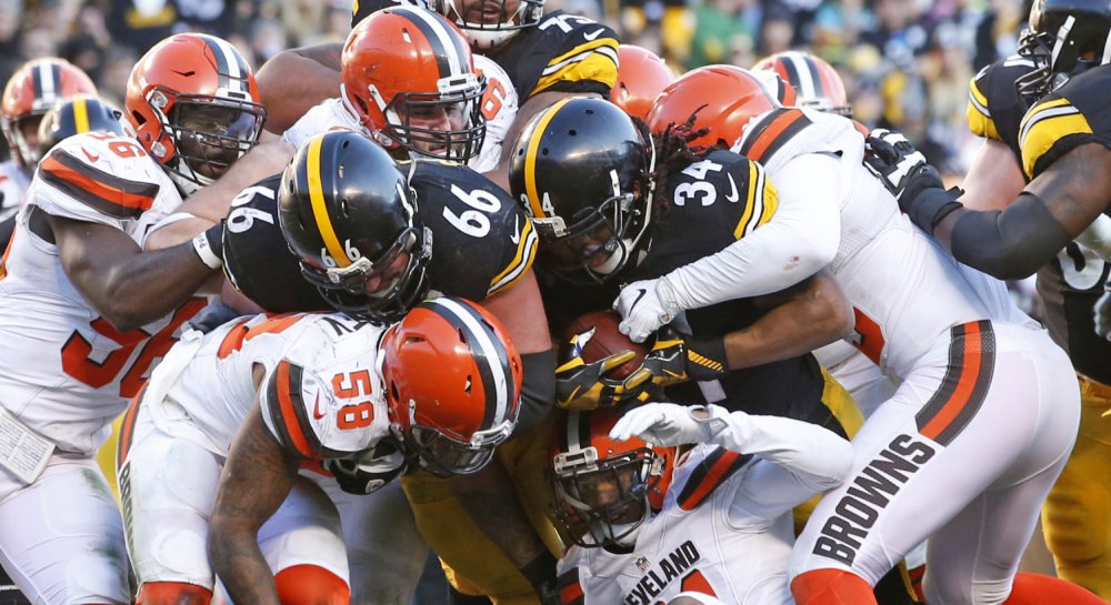 The Pittsburgh Steelers were in trouble in mid-November, mired in a four-game losing streak. But they turned their season around, winning seven straight, including an OT win over the Browns in the regular-season finale.