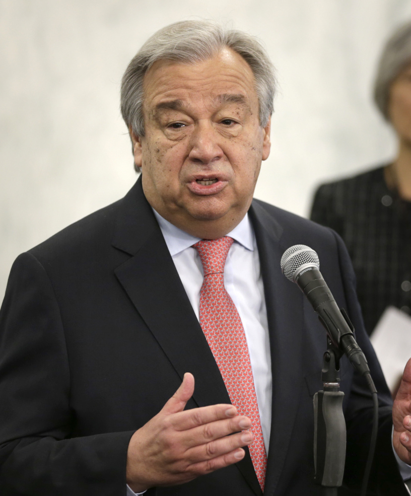 Antonio Guterres, the new U.N. Secretary-General, says he is no miracle maker but has big ambitions.