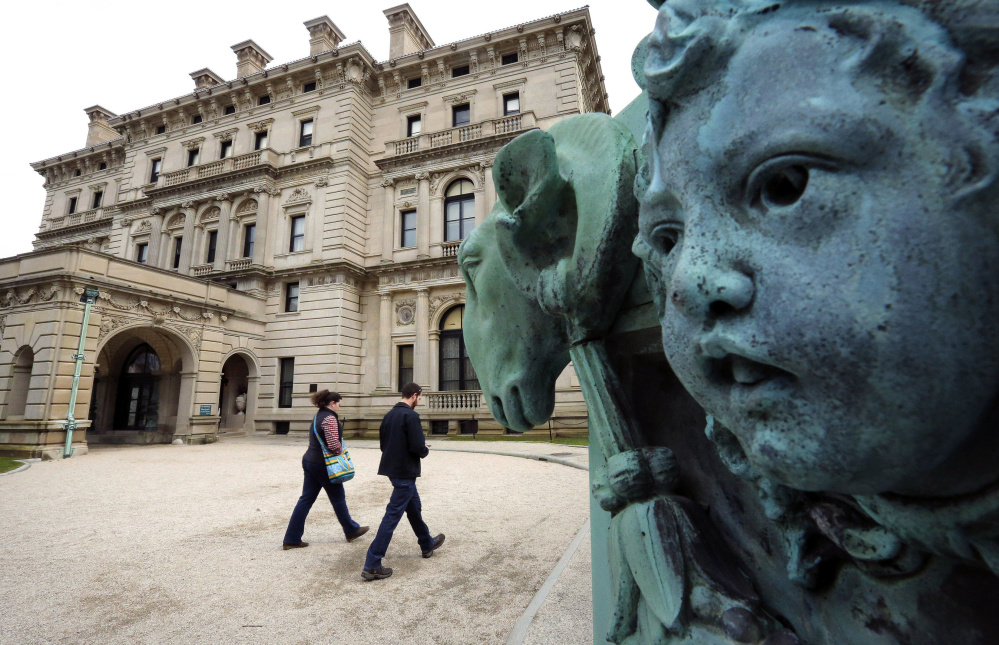 The Preservation Society of Newport County, which owns The Breakers mansion, will now work to hire a contractor and get needed permits for a visitors center on the grounds of the national historic landmark in Newport, R.I.
