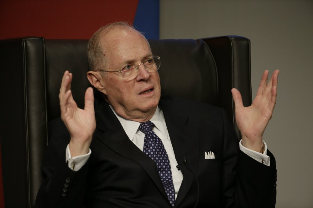 For the most part, Supreme Court Justice Anthony Kennedy remains true to his conservative leanings, but sometimes sides with his liberal colleagues. Associated Press/Matt Slocum