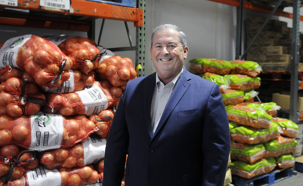 President Greg Piper at Performance Foodservice — NorthCenter warehouse in Augusta on Dec. 20.