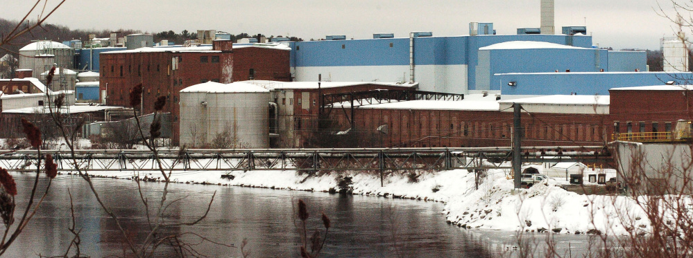 The closed former Madison Paper Industries mill along the Kennebec River, seen on Tuesday, has new owners who hope to redevelop a portion of the property.