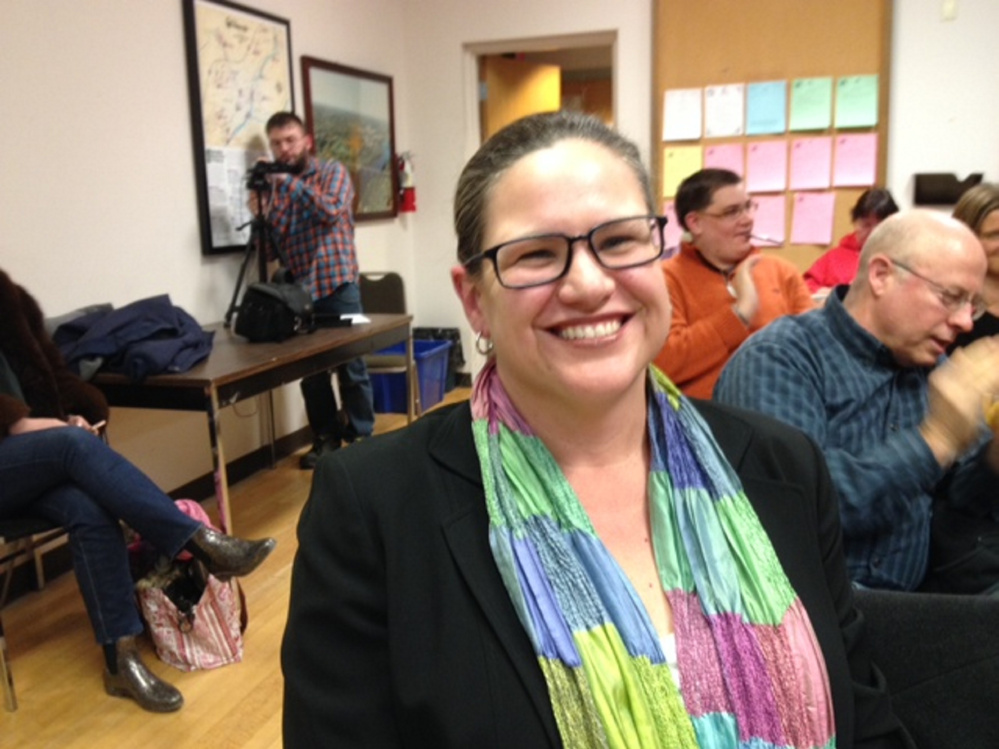 Winifred Tate was elected to Waterville City Council on Tuesday night.