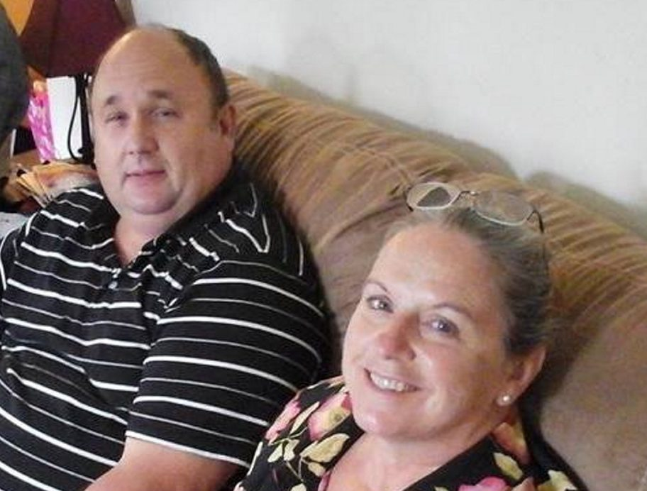 Steven Rhodes, 53, left, died Monday in a fire and his wife, Elizabeth Rhodes, 56, was injured and is being treated at Maine Medical Center, police said.