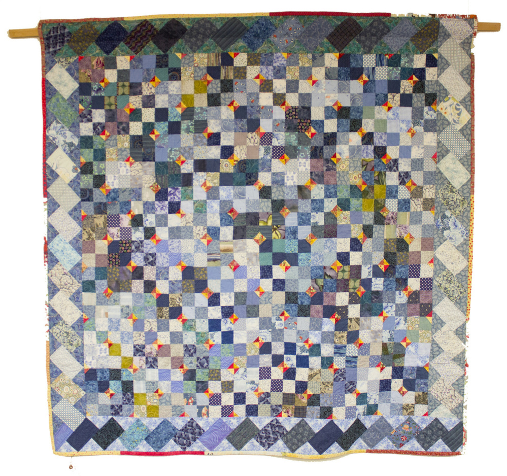 A quilt by Toni Kayser Weiner.