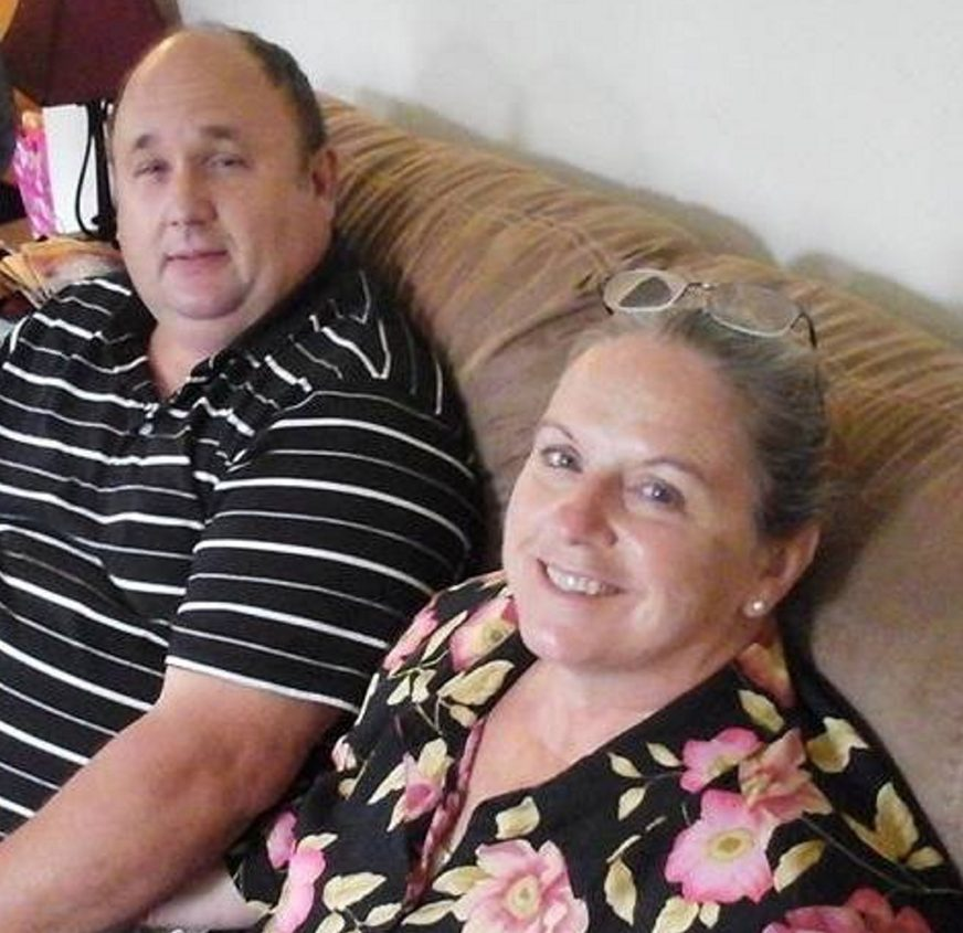 Steven Rhodes, 53, left, died in a fire Monday at his home. His wife, Elizabeth Rhodes, 56, is recovering from injuries in the fire, which also killed their son, Issac Rhodes, 25.