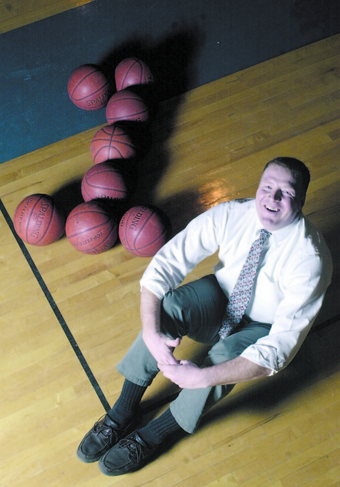 Tim Bonsant was an accomplished basketball player at the University of Southern Maine and also coached the Erskine boys team to a 2004 state title. Bonsant will be inducted to the Maine Basketball Hall of Fame.