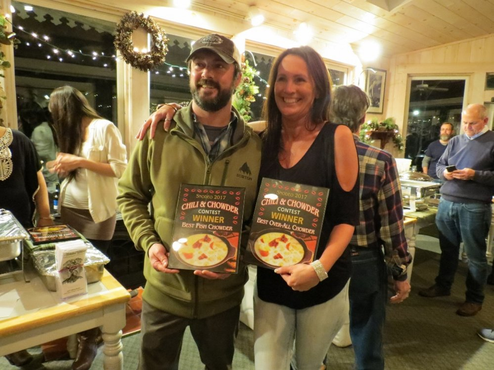 Best Overall Chowder winner was Jamie Sargent and Crystal Greenleaf Figoli of Sarge's Sports Pub & Grub.